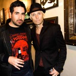 OBEY YOUR MASTER - Viveros & good friend- Mike Dirnt (GreenDay)