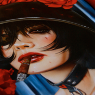 NEW VIVEROS PAINTINGS FOR SCOPE NYC 3/6/13