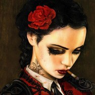 VIVEROS BULL-FIGHT-HER @ LA ART SHOW THIS WEEK