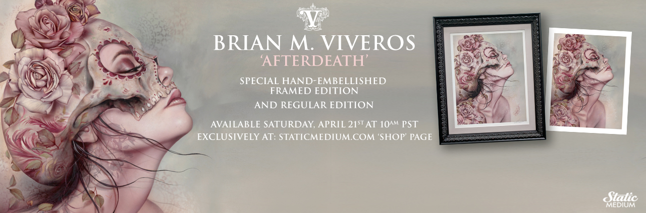 Viveros 'AFTERDEATH' Special Edition and Regular Edition Available This Saturday, April 21st at 10AM PST