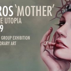 BRIAN VIVEROS NEW 'MOTHER' PAINTING FOR BEAUTIFUL BIZARRE MAGAZINE CURATED GROUP EXHIBITION AT URBAN NATION MUSEUM FOR CONTEMPORARY ART
