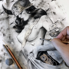 NEW VIVEROS 'BATTLEFIELD' PRINT AVAILABLE THIS SATURDAY NOV.11th at 11AM PST EXCLUSIVELY AT STATICMEDIUM.COM