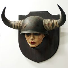 "BRIAN M. VIVEROS ""BULLHEADED"" SCULPTURE NOW AVAILABLE!"