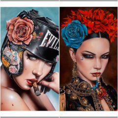 TWO NEW VIVEROS PRINTS AVAILABLE  MONDAY, NOVEMBER 16TH AT 10AM PST @ THINKSPACE PRINTS