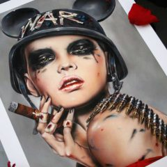 SOLD OUT 'PLAY DIRTY' LIMITED EDITION PRINT RELEASE