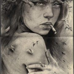 Viveros NEW rendering 'SACRED' For Hashimoto Contemporary 'The Moleskine Project IV' Opening April 4th!