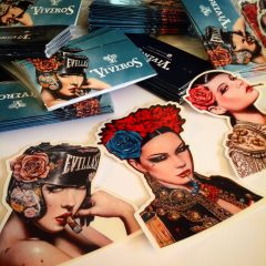 HAPPY NEW VIVEROS STICKER PACK NOW AVAILABLE!