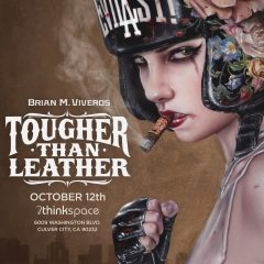VIVEROS 'TOUGHER THAN LEATHER' OPENING OCTOBER 12TH! THINKSPACE GALLERY