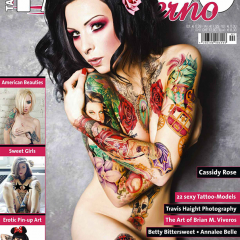 TATTOO INFERNO FEATURING A SPECIAL PHOTO TRIBUTE TO THE ART OF BRIAN M. VIVEROS