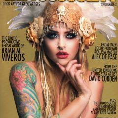 TATTOO SOCIETY MAGAZINE spotlights the work of Artist/Director/Smoker Brian M. Viveros.