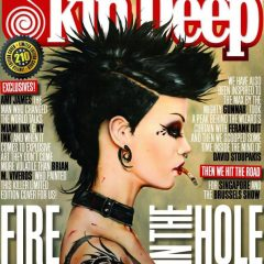 VIVEROS ON THE COVER OF TATTOO SKIN DEEP MAGAZINE