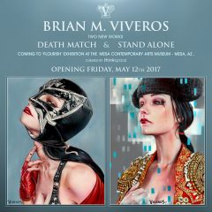 TWO NEW WORKS COMING TO MESA CONTEMPORARY ART MUSEUM AZ. OPENING FRIDAY, MAY 12TH!!!