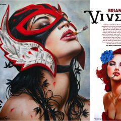 VIVEROS ART IN PLAYBOY!!
