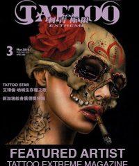 Tattoo Extreme Magazine Featured Artist