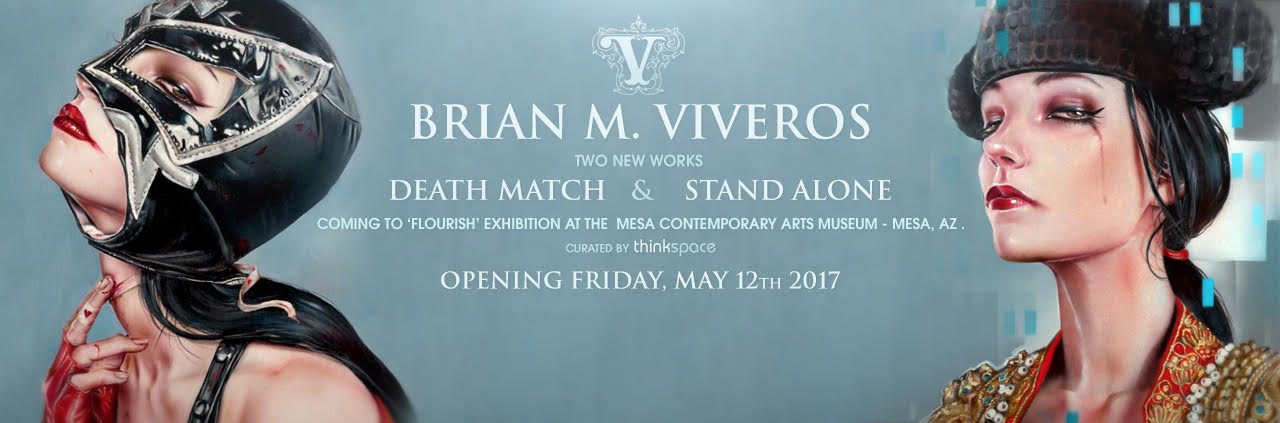 BRIAN M. VIVEROS TWO NEW WORKS COMING TO 'FLOURISH' EXHIBITION AT MESA CONTEMPORARY ART MUSEUM MAY 12TH