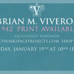 NEW '1942' PRINT AVAILABLE FRIDAY, JANUARY 19TH AT 10AM (PST)