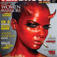 VIVEROS ON THE COVER OF AIRBRUSH ACTION