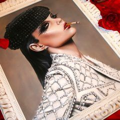 VIVEROS NEW PAINTING COMING TO NYC LAST RITES GALLERY!