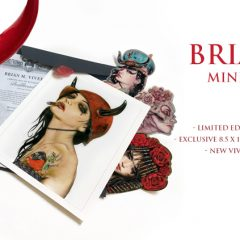 VIVEROS 'BULLHEADED' BLOOD RED EDITION PACKAGE AVAILABLE FRIDAY FEB. 16th at 10AM PST / EXCLUSIVELY AT PRETTYINPLASTIC.COM