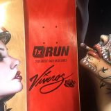 VIVEROS SKATE DECKS AVAILABLE JULY 22 AT 1xRUN.com